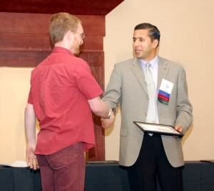 Georg Ruß, Raj Khosla, at ICPA 2010, Denver, Colorado