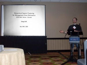 Presenting my talk at the ICPA 2010